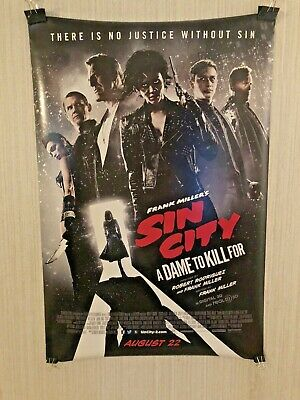 30 24x36 Poster Sin City Fighting US Classic Movie Film Vintage T-673