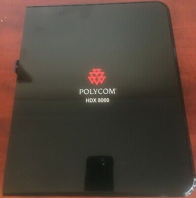 Polycom HDX 8000 HD PAL Video Conferencing Equipment 14 available Express Post