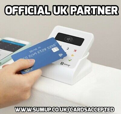 BRAND NEW SumUp Air Card Reader BNIB - Free Step By Step Set Up Guide Included