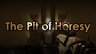 Destiny 2 Shadowkeep ~ Pit Of Heresy Dungeon Completion (PS4 ONLY)