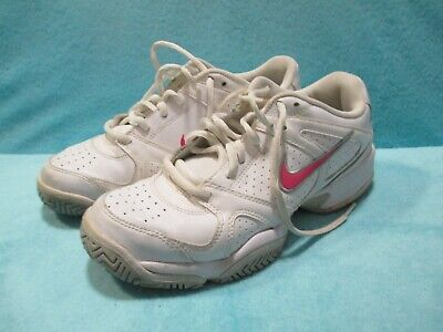Womens NIKE City Court 6 GDR - White & Pink - Trainers Shoe - SIZE UK 5 EUR 38.5