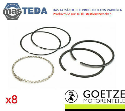 3x ENGINE PISTON RING SET GOETZE ENGINE 08-427100-00 I STD NEW OE REPLACEMENT