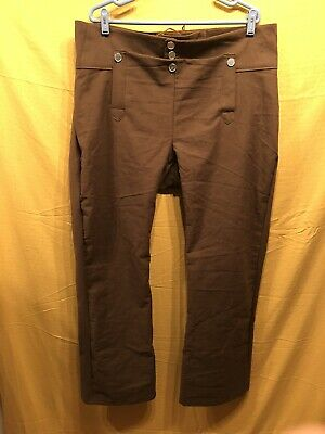 Trousers, Size 39 Dark Brown - Rendezvous, Mountain Man, Colonial, Pirate