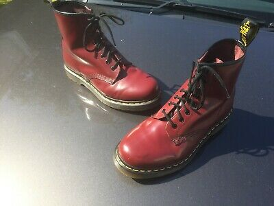 Dr Martens 1460 cherry red leather UK 7 EU 41