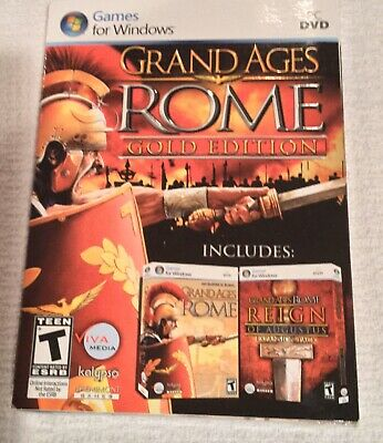 NIP Grand Ages: Rome -- Gold Edition (PC DVD-rom, 2010)