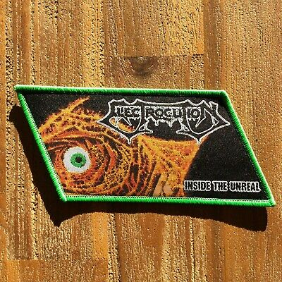 ELECTROCUTION woven patch - death sepultura atheist morbid angel possessed cynic