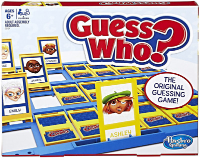 Guess Who? Classic Game hasbro kids family toy gift present board new boys girls