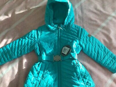 Poivre Blanc Quilted  Turquoise Coat Age 2 Years ,Brand New.ideal Christmas Gift