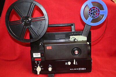 SUPER 8mm, MAGNETIC MONO SOUND MOVIE PROJECTOR, ELMO ST-160 M SERVICED A1