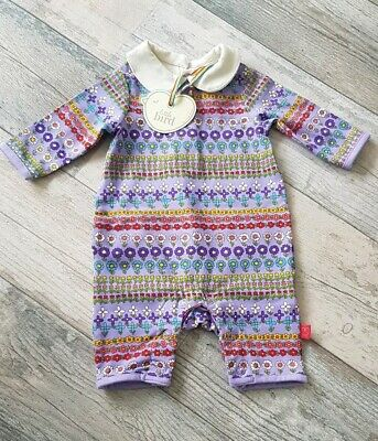 Mothercare Little Bird Jools Lilac Floral Romper Playsuit All-In-One New Baby
