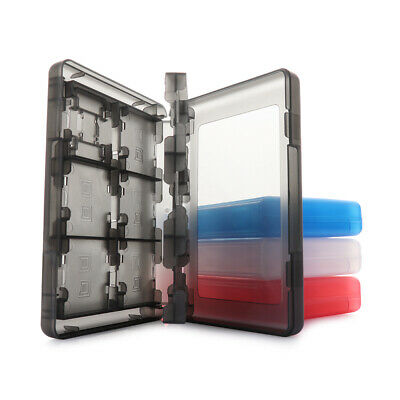 Storage Box Cassette Bag Plastic Micro Cover For Nintendo NDS game 3DS card
