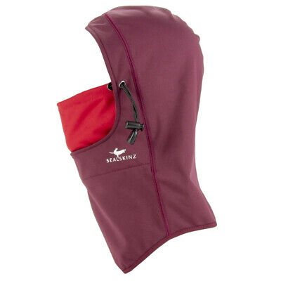 Sealskinz NEW Unisex Waterproof All Weather Head Gaitor - Red BNWT