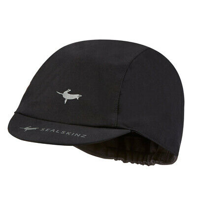 Sealskinz NEW Unisex Waterproof All Weather Cycle Cap - Black BNWT
