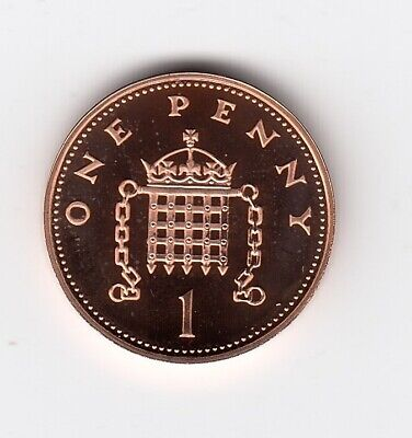 2002 ONE PENNY 1p in Extremely Nice Proof Condition Collectable Grade     (1358)
