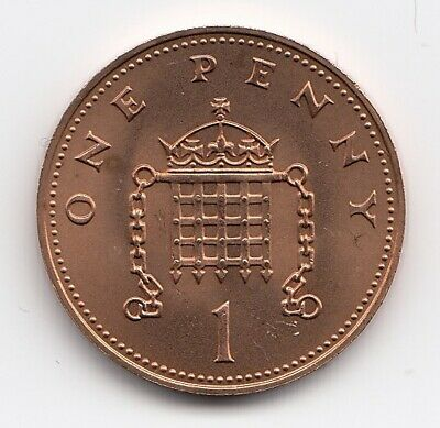 1984 ONE PENNY 1p In PROOF Condition Extremely Nice coin    (1102)