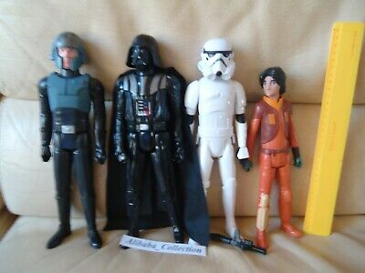 LOT FIGURINE HASBRO STAR WARS 2013 2014 FIGURE 28 cm