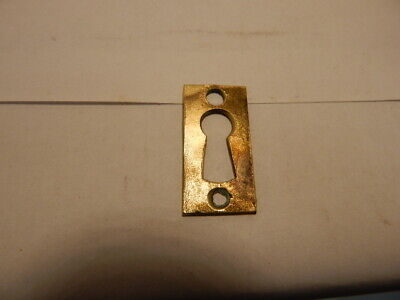 Antique Door Key Hole Escutcheon Cast Brass (KH26).