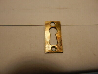 Antique Door Lock Key Hole Escutcheon Cast Brass (KH 26).