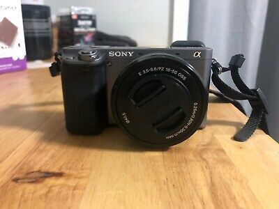 Sony Alpha A6000 24.7 inch Mirrorless Digital Camera with lens
