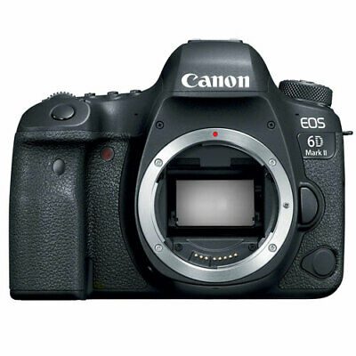 Canon EOS 6D Mark II 26.2 MP Digital SLR Camera Body Full-Frame, Black
