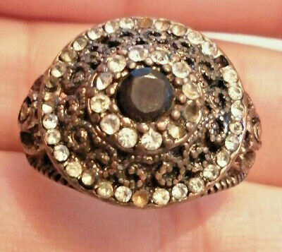 Ancient Roman Byzantine Decorated Bronze Ring Fabulous