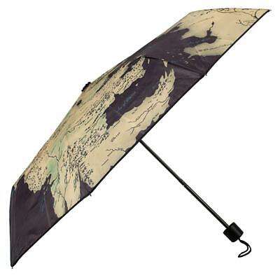 Game of Thrones Map Compact Umbrella Westeros HBO George RR Martin TV Book Gift