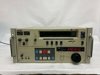 Vintage Sony Commercial Video Cassette Recorder VO-9800 U-Matic