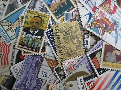 Henry's Stamps - U.s. -100 Different Commemoratives - Used/Off Paper