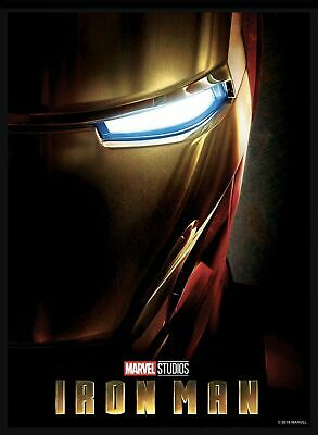 Topps Marvel Collect Card Trader First 10 Years Movie Posters Iron Man 500cc