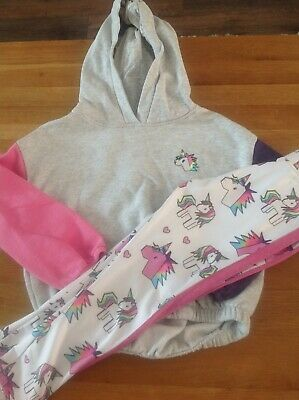 Next Girls Gym Set/unicorn Outfit Age 7
