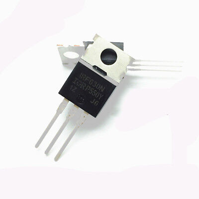 50PCS NEW IRF630NPBF IRF630 MOSFET N-CH 200V 9.3A TO-220 NEW