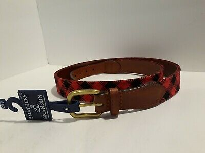 "BONES WHEELS MEN'S -CLOSEOUT!! Reds, Swiss 32 Skateboard Belt ""LEATHER"" Sz"