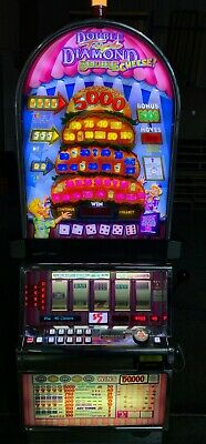 IGT Double Triple Diamond Deluxe With Cheese Video Machine