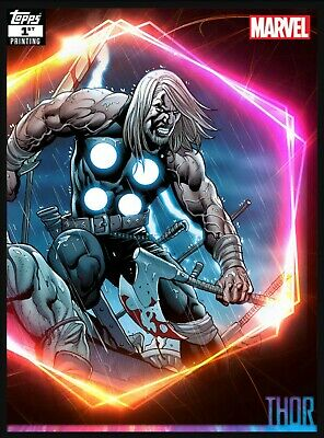 Topps Marvel Collect Ultimate Universe -Thor 1st Printing (250cc)