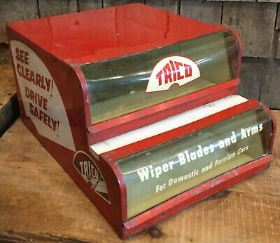 Vintage Trico Windshield Wiper Gas Service Station Store Counter Top Display