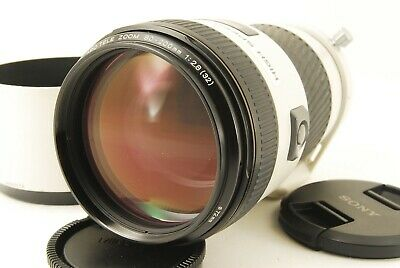 811 Minolta AF 80-200mm F/2.8 G High Speed APO for Sony A ***EXC*** with HOOD