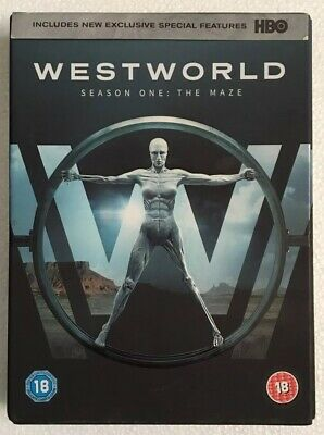 WESTWORLD Complete Season 1 The Maze DVD, 2017, 3-Disc Box Set & Download HBO