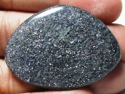 Black Sunstone  Cabochon Fancy Shape 73.60 Cts Natural Loose Gemstone E 1035