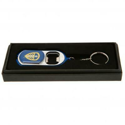 Leeds United Fc Bottle Opener With Torch Light Key Ring Keychain New Gift Xmas