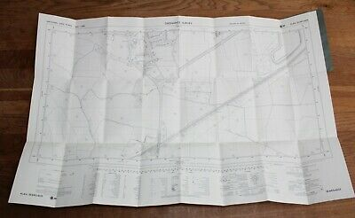 Ordnance Survey Map SE 6425-6525 Yorkshire 25 inch to 1 mile Camblesforth Drax