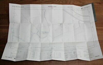Ordnance Survey Map SE 6826-6926 Yorkshire 25 inch to 1 mile Scurff Hall Drax