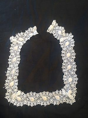 Antique Vintage Lace Collar Vintage Costume Sewing Accessory