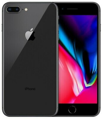 Iphone 8 Plus 256Gb Grado A/B Space Gray Nero Ricondizionato Apple Rigenerato