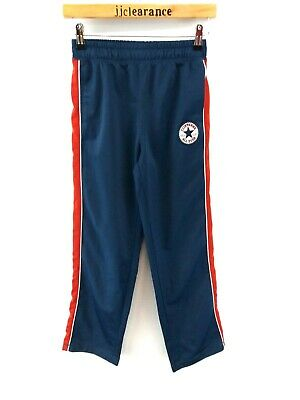 CONVERSE Boys Tracksuit Bottoms Joggers 10-12 Years M Medium W26 L27 Blue Poly