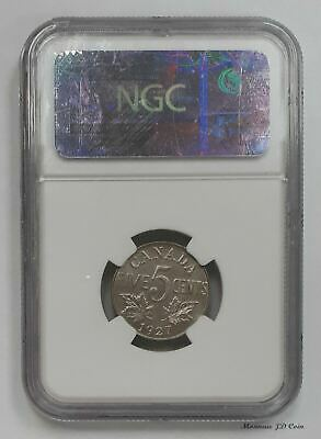 1927 Canada 5 Cents George V NGC Certified MS-64