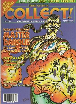 Tuff Stuff's Collect! July, 1994: Master Darque-Free Lion King Promo Card