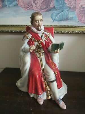 Royal Doulton England Figurine 3822 The Stuarts King James I Limited Edition
