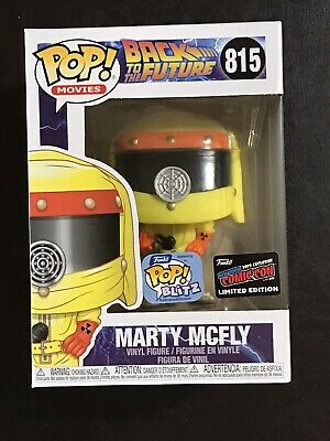 Official Con Sticker 2019 Nycc Funko Pop Back To The Future Marty Mcfly #815.