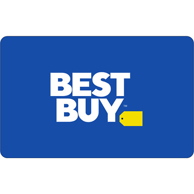 Best Buy Gift Card $500 physical gift card