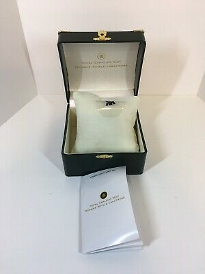 Royal Canadian Mint Watch Box - Box , Pillow , Booklet Only NO WATCH